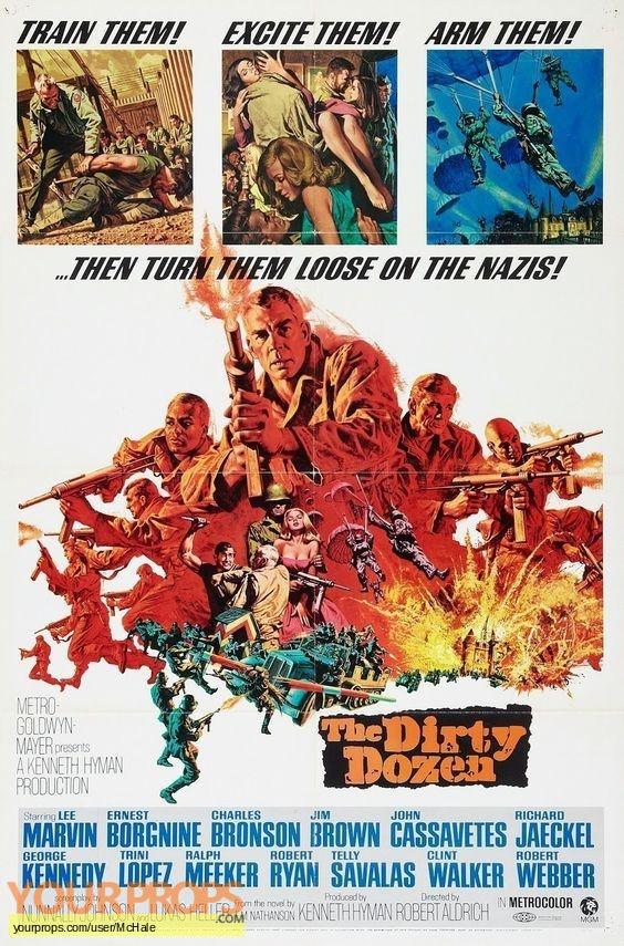The Dirty Dozen ( 1967 ) replica movie prop