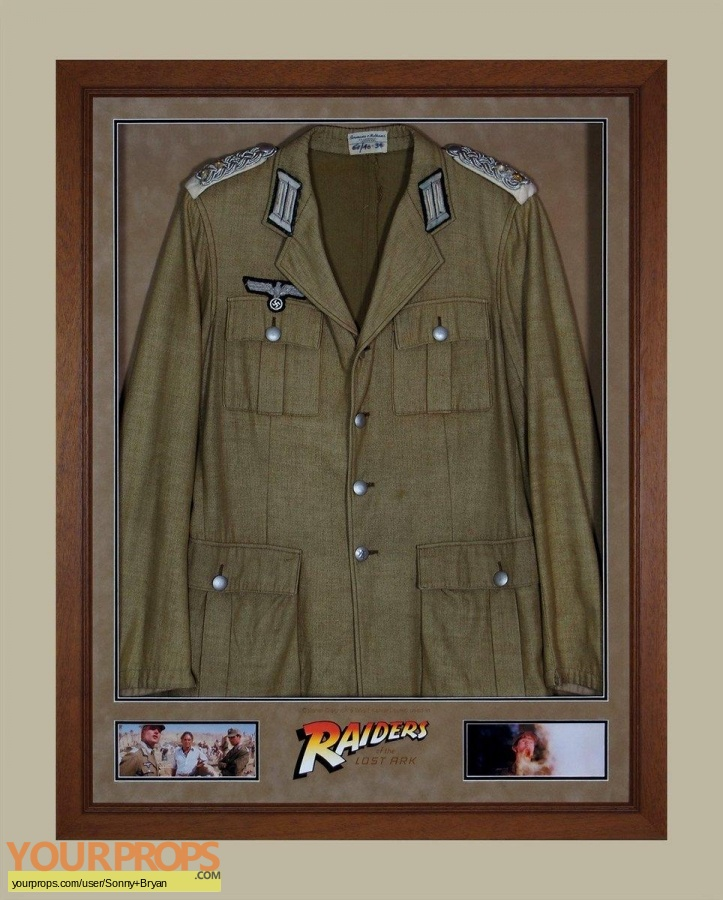 Indiana Jones And The Raiders Of The Lost Ark original movie costume