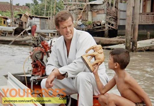 James Bond  The Man With The Golden Gun original movie prop