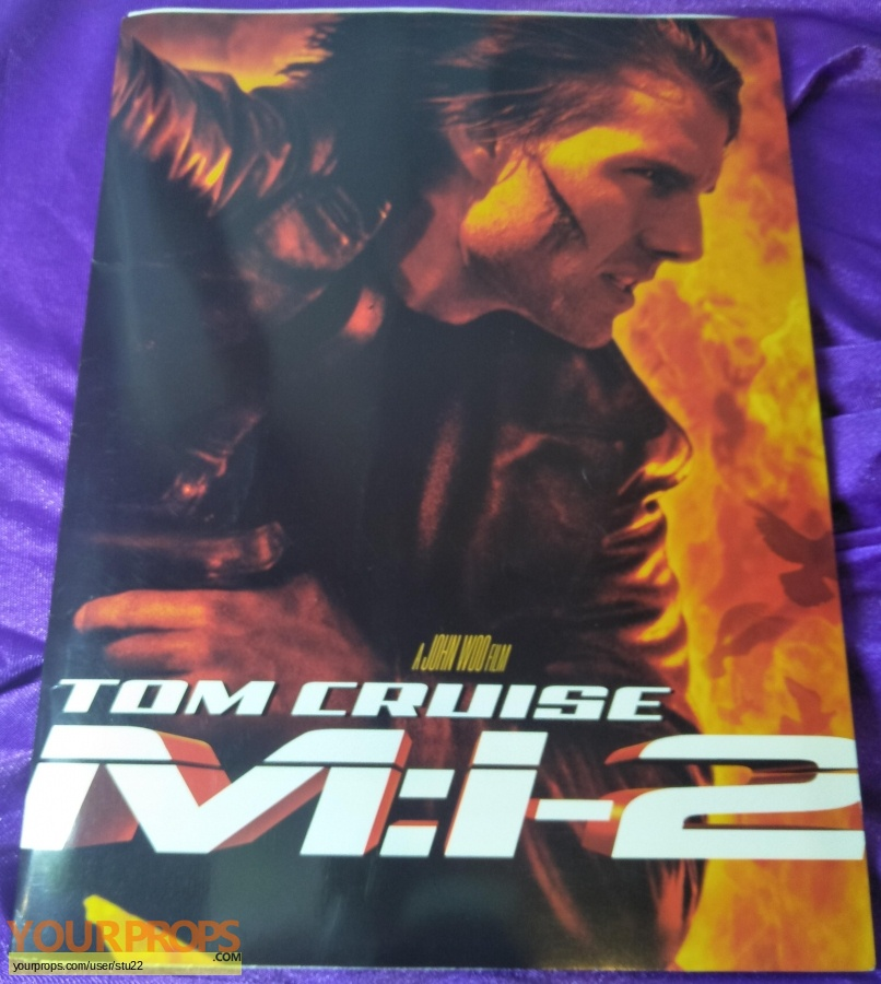 Mission  Impossible 2 original production material