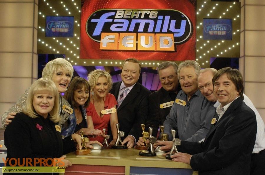 Berts Family Feud original film-crew items