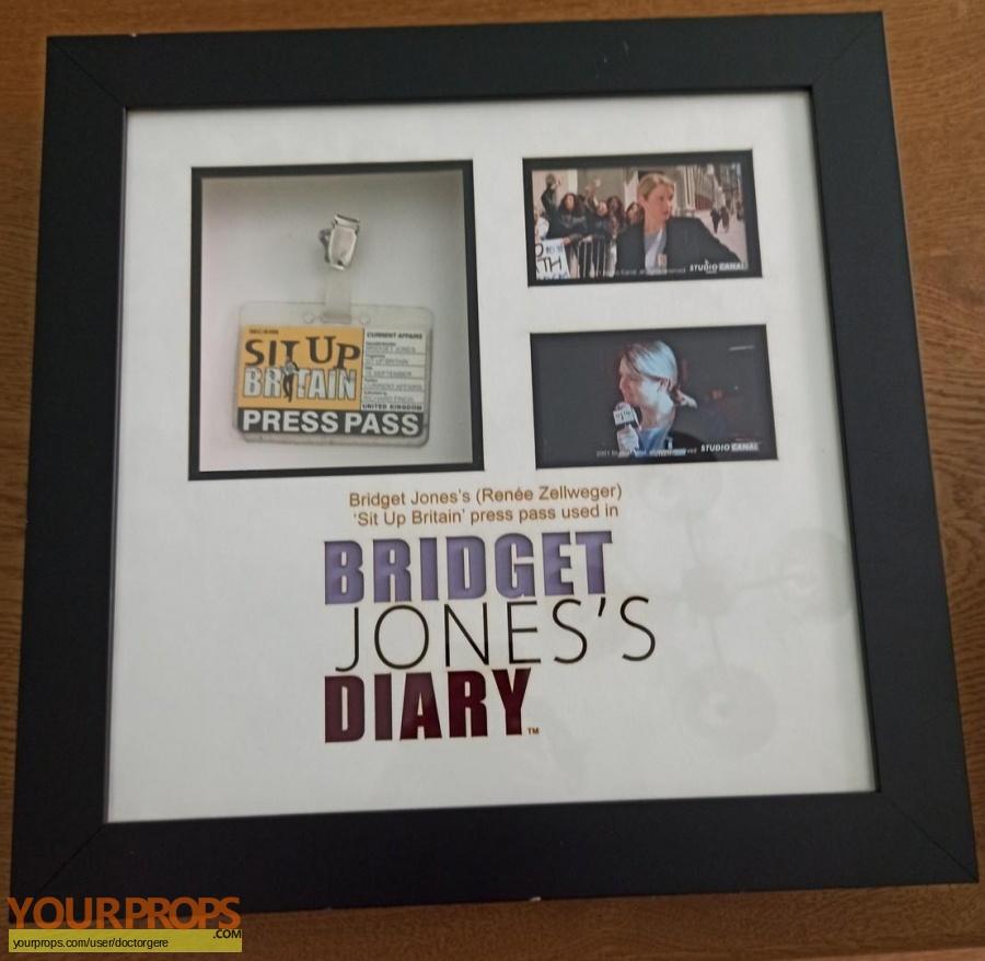 Bridget Joness Diary original movie prop