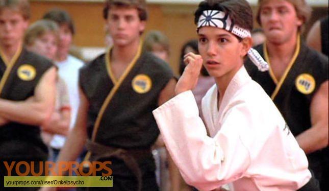 The Karate Kid replica movie costume