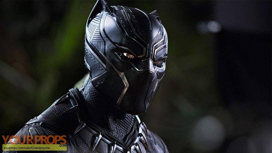 Black Panther replica movie costume