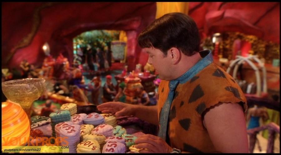 The Flintstones in Viva Rock Vegas original movie prop