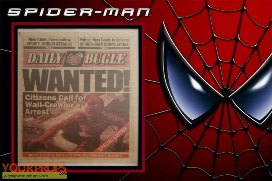 Spiderman original movie prop