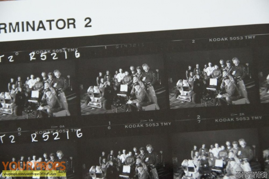 Terminator 2  Judgment Day original production material