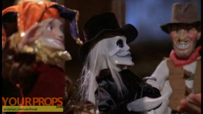 Puppet Master vs Demonic Toys original production material