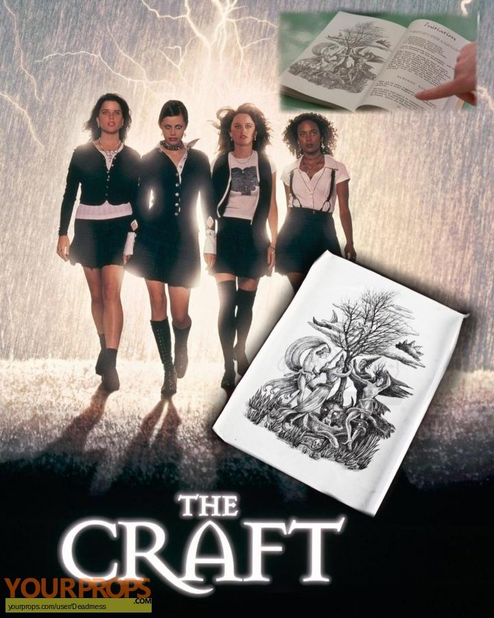 The Craft original production artwork