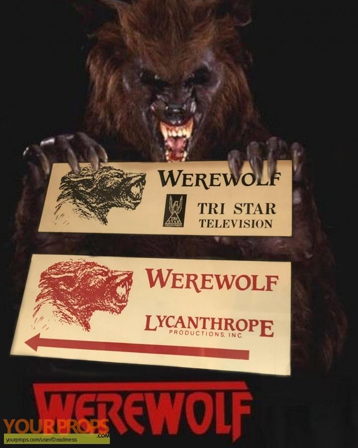 Werewolf TV Series original production material