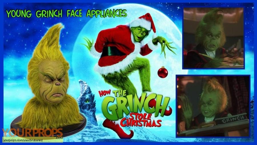 How the Grinch Stole Christmas original make-up   prosthetics