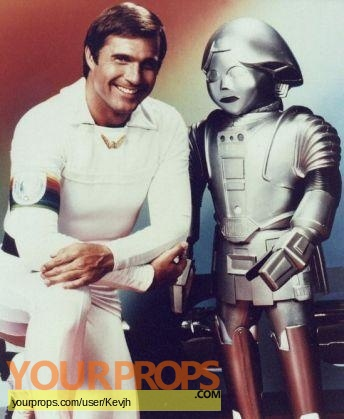 Buck Rogers in the 25th Century replica movie prop