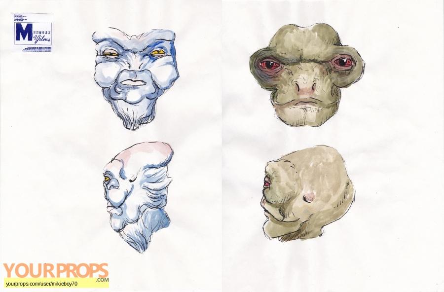 Space Precinct original production artwork