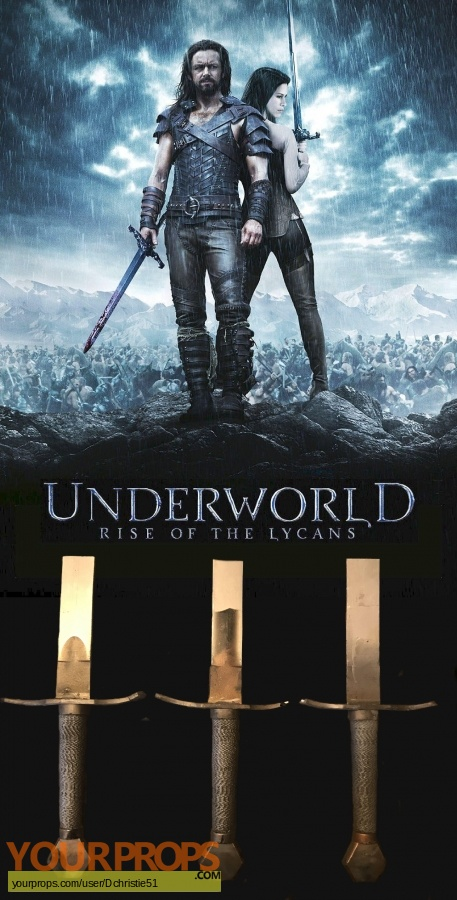 Underworld  Rise of the Lycans original movie prop weapon