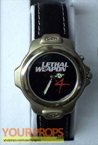 Lethal Weapon 4 original film-crew items
