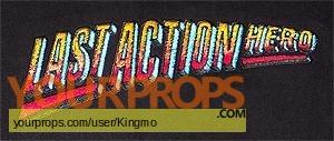 Last Action Hero original film-crew items