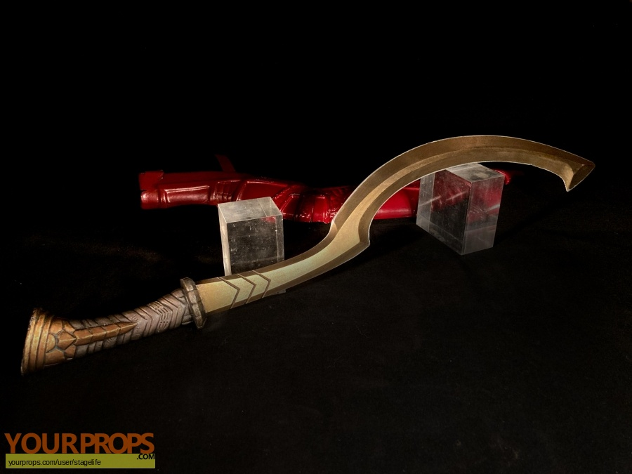 Gods of Egypt original movie prop weapon