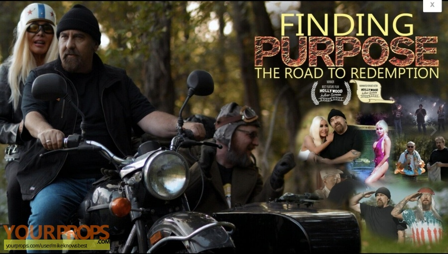Finding Purpose  The road to redemption original movie costume