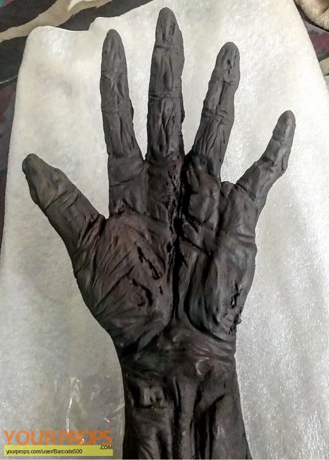 Friday the 13th  Part 7  The New Blood replica make-up   prosthetics
