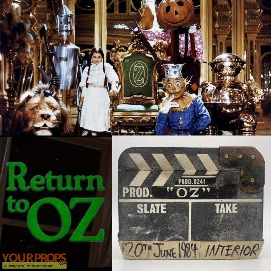 Return to Oz original production material