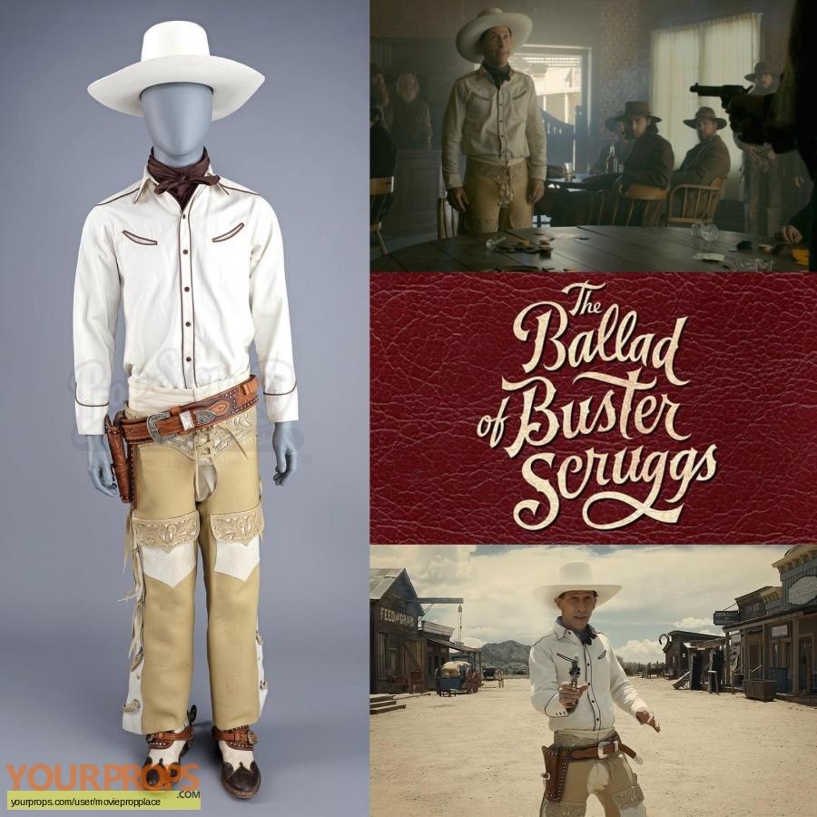 The Ballad of Buster Scruggs original movie costume