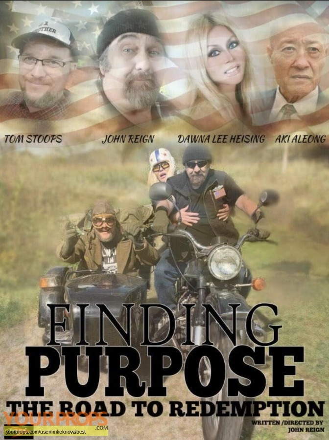 Finding Purpose  The road to redemption original production material