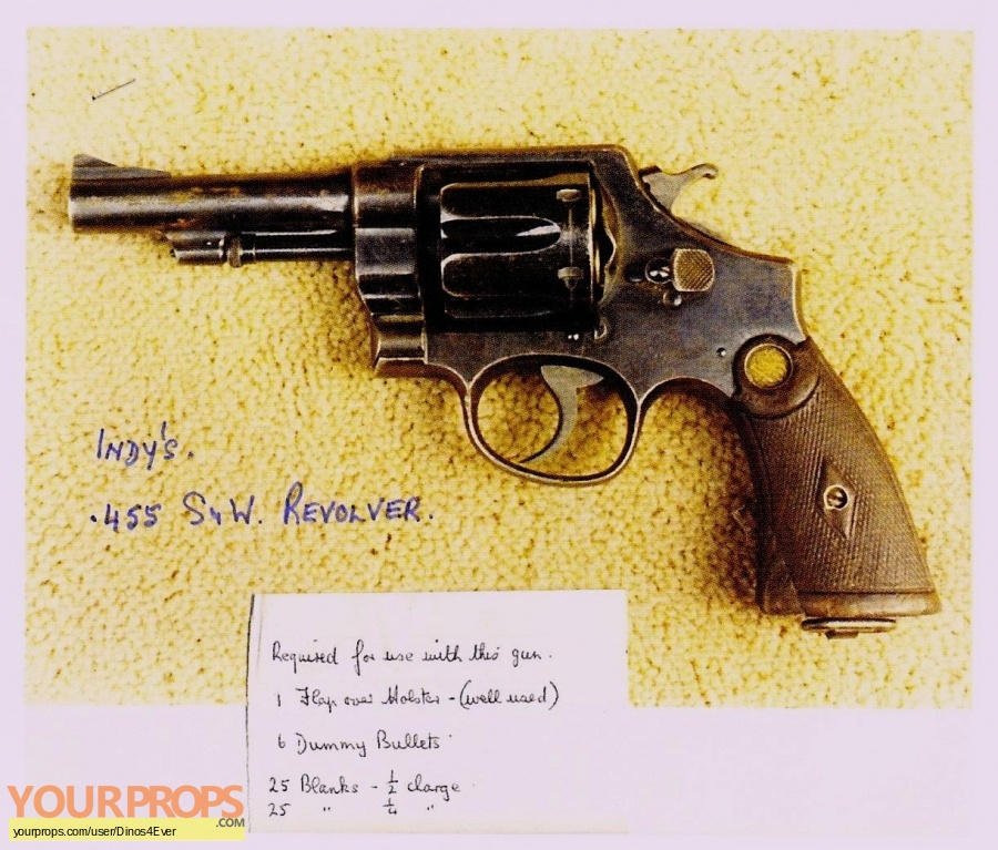 Indiana Jones And The Raiders Of The Lost Ark replica movie prop weapon