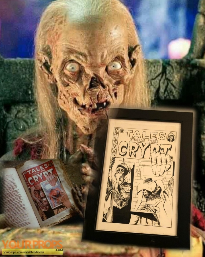 Tales from the Crypt original production artwork