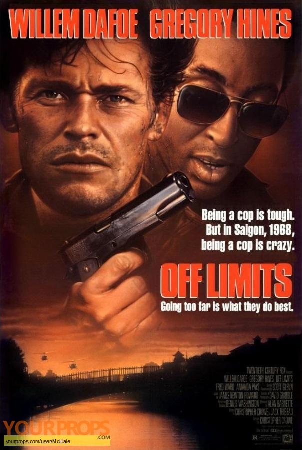 Off Limits original movie prop