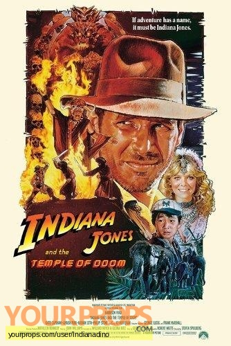Indiana Jones And The Temple Of Doom original movie costume