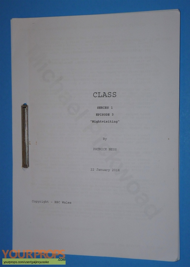 Class original production material