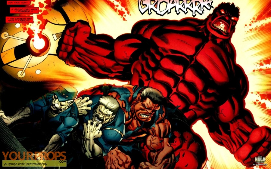 Hulk original movie costume