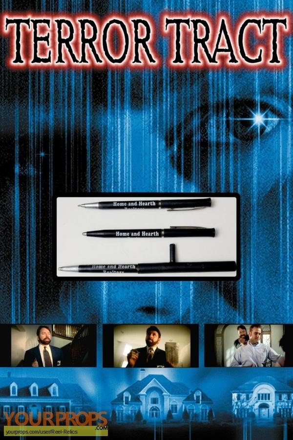 Terror Tract original movie prop