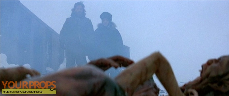 The Thing original production artwork