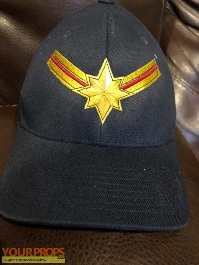 Captain Marvel original film-crew items