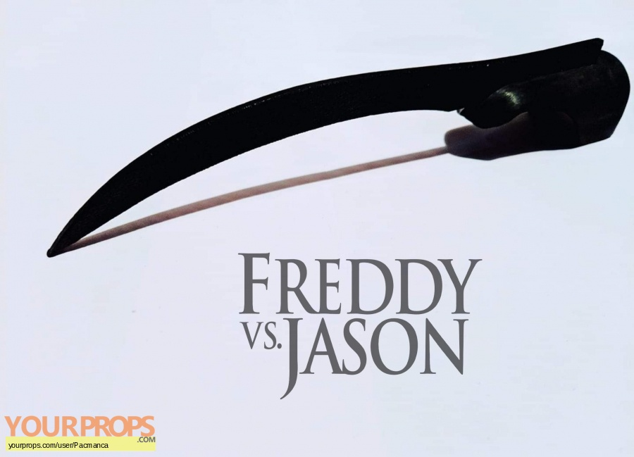 Freddy vs  Jason original production material