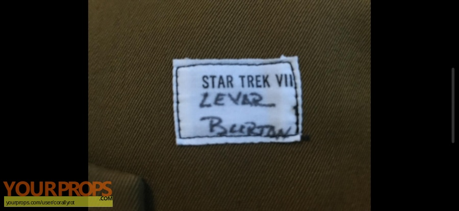 Star Trek Generation original movie prop