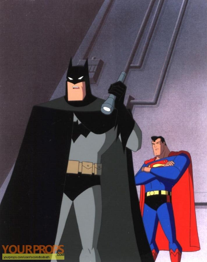 Superman  The Animated Series original production artwork