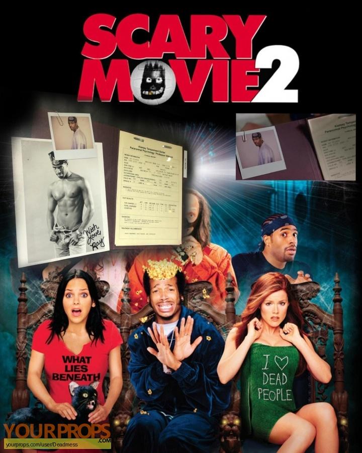 Scary Movie 2 original movie prop