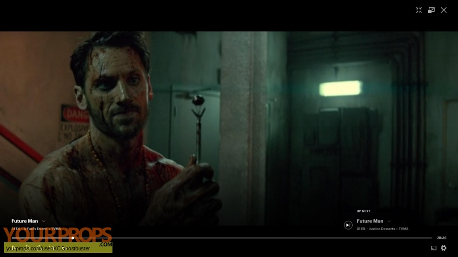 Future Man original movie prop weapon