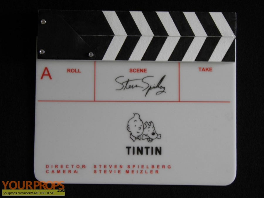 The Adventures of Tintin made from scratch production material