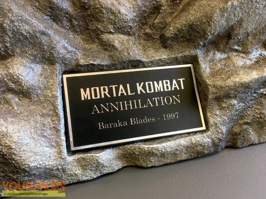 Mortal Kombat  Annihilation original movie prop