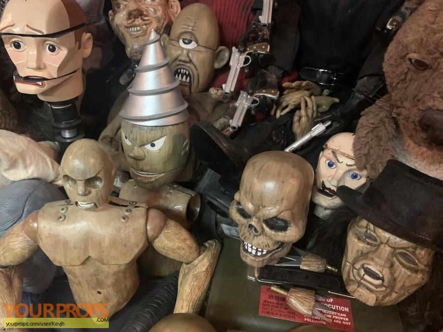 Retro Puppet Master original movie prop