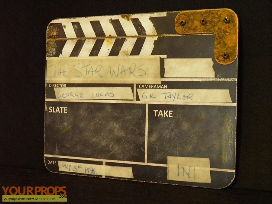 Star Wars A New Hope made from scratch production material
