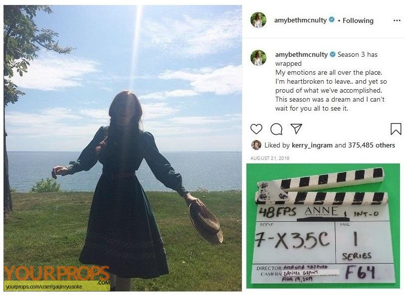 Anne with an E  (2017-2019) original production material
