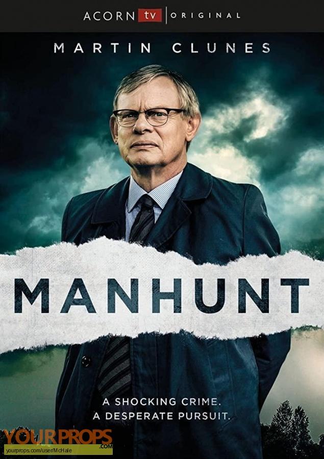 Manhunt original movie prop
