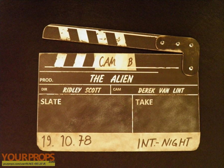 Alien made from scratch production material
