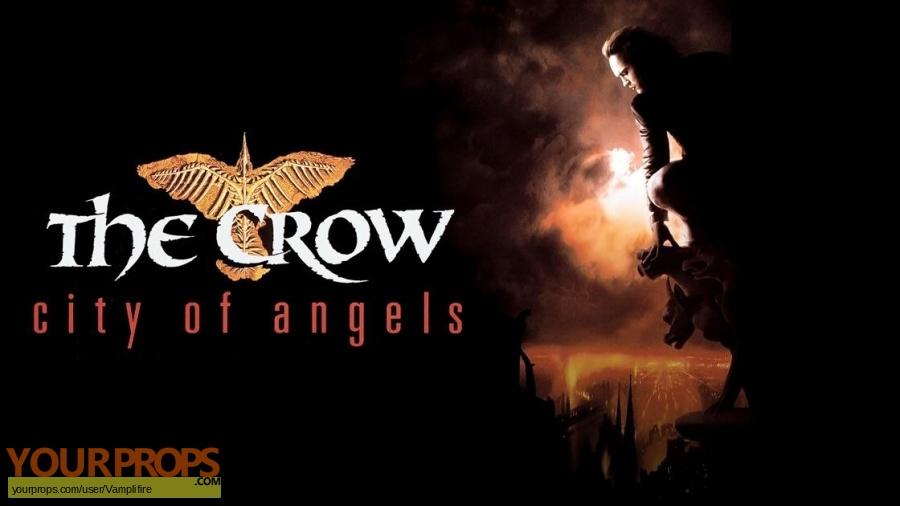 The Crow  City of Angels original movie prop