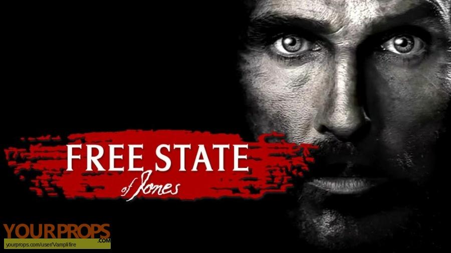 Free State of Jones original movie prop