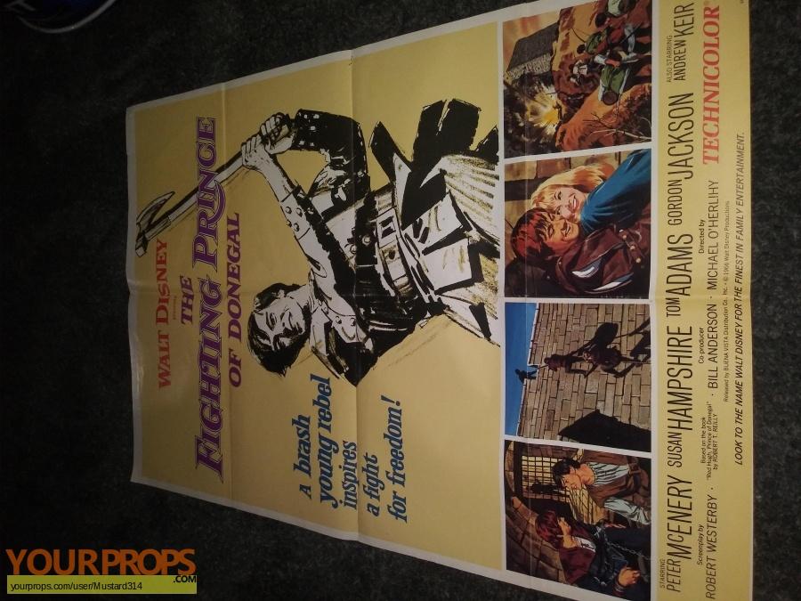 The fighting prince original production artwork